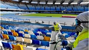 إيقاف جميع الأنشطة الرياضية في إيطاليا بسبب تفشي كورونا