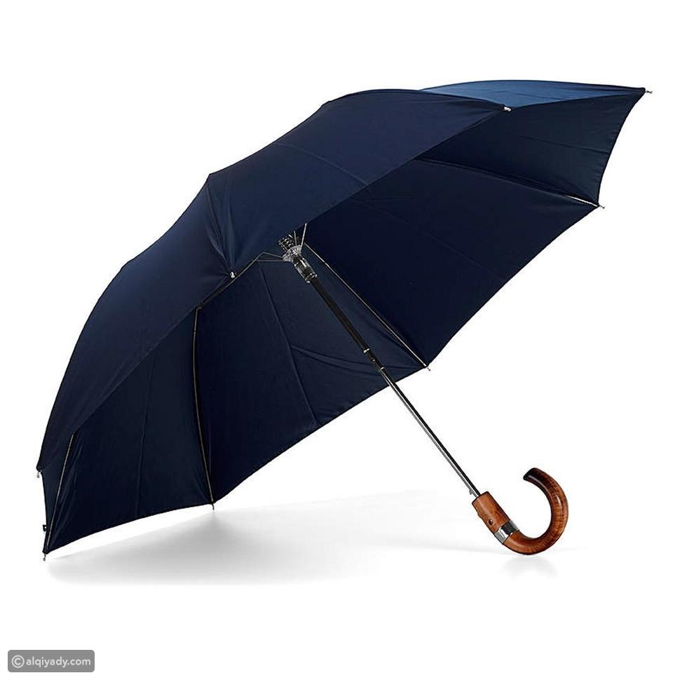 مظلات أنيقة للرجال: ابق جافاً تحت الأمطار