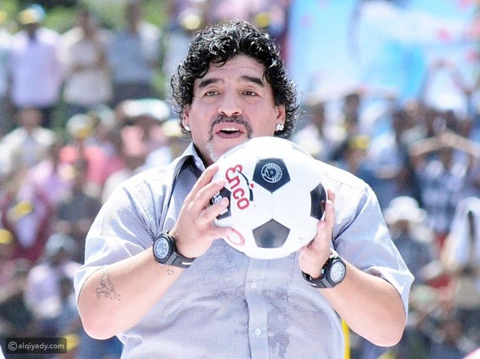 ثروة مارادونا تثير الجدل