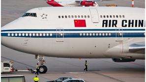 4.8 مليار دولار هي خسائر الخطوط الصينية الجوية في 2020