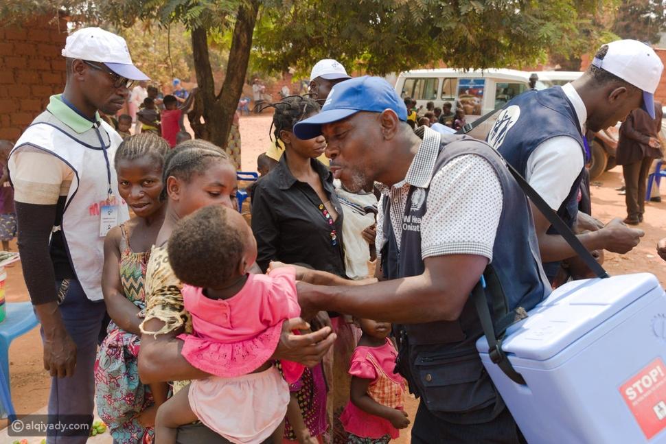 جهود العالم ضد شلل الأطفال