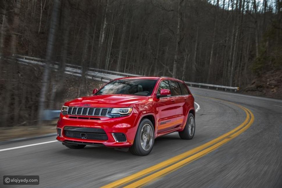 جيب جراند شيروكي تراكهاوك - Jeep Grand Cherokee Trackhawk
