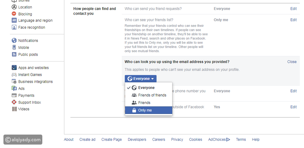 كيفية إخفاء صفحتك الشخصية على فيسبوك بعيداً عن الغرباء والمتطفلين