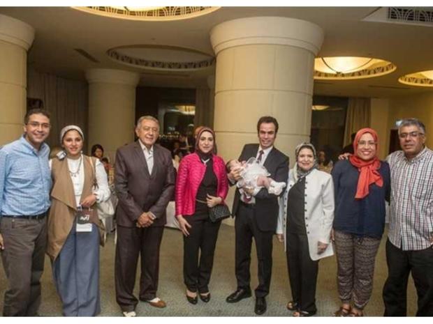 وأُقيمت الاحتفالية في أحد الفنادق النيلية بالعاصمة المصرية، القاهرة.