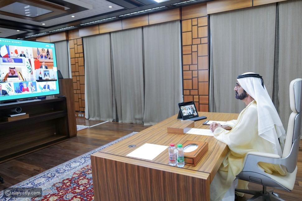 صور: ماذا قال الشيخ محمد بن راشد عن مشاركته في قمة مجموعة العشرين G20؟