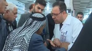 فيديو: لحظة وفاة رجل عراقي على الهواء أثناء لقاء تليفزيوني
