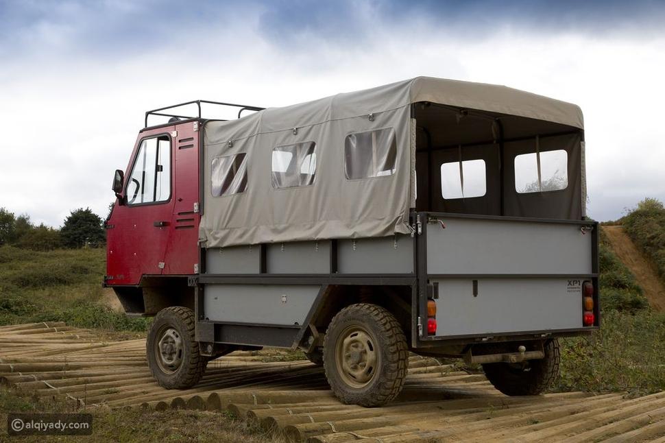 تعرف على أول شاحنة في العالم يمكن فكها وتجميعها في صندوق واحد