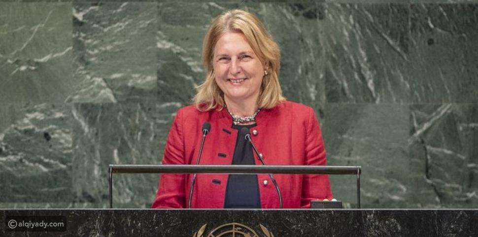 فيديو: وزيرة خارجية النمسا تُلقي كلمة بالعربية في الأمم المتحدة