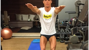 تمارين كريستيانو رونالدو.. فيديو: هذه التدريبات ساعدته للوصول للياقته