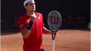 فيديو: إصابة لاعب التنس البرازيلي تياغو وايلد بفيروس كورونا