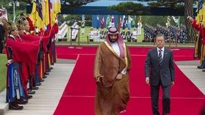 فيديو: استقبال حافل لولي العهد السعودي في القصر الأزرق الرئاسي