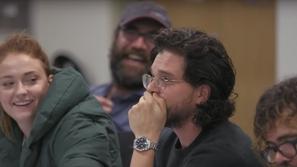 فيديو: ردود أفعال أبطال Game of Thrones لحظة اكتشافهم النهاية الصادمة