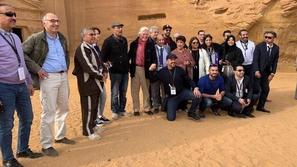 بعد حضور مهرجان شتاء طنطورة: مشاهير مصر منبهرون بمدينة العلا التاريخية