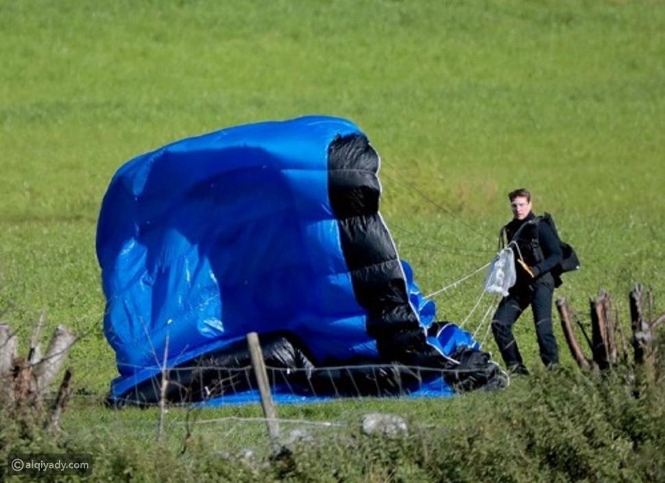 تسريب مشهد خطير لتوم كروز في Mission: Impossible 7 هكذا عرض نفسه للخطر