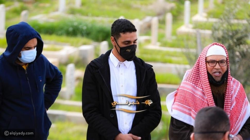 عبود العمري: لحظة دفن جثمانه عقب وصوله إلى عمان