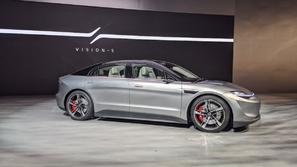 سوني تنافس تسلا بسيارة كهربائية خارقة: إليكم Vision-S الاستثنائية