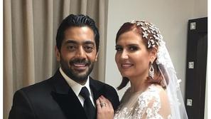 فيديو: زفاف الفنان أحمد فلوكس وهنا شيحة أمام الرئيس عبد الفتاح السيسي