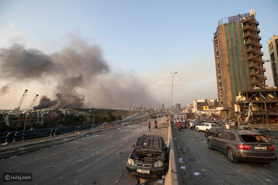 لقطات جديدة تبين حجم الدمار الذي حل بمرفأ بيروت بعد الانفجار الرهيب