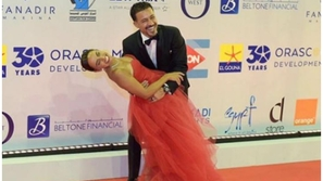 فيديو: رقصة أحمد داود وزوجته علا رشدي تخطف الأضواء في مهرجان الجونة