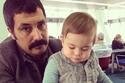 أجمل صور النجوم الأتراك مع أبنائهم