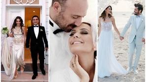 النجوم الأتراك في حفلات زفافهم