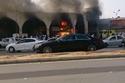 صور وفيديو لحريق هائل في أسواق طيبة في الرياض