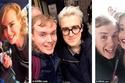 مجنون السيلفى ينشر صوره مع أشهر نجوم هوليود