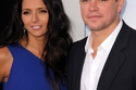 مات ديمون ولوسيانا باروسو، وتقابلا في حانة في ميامي، حيث تعمل لوسيانا، وتزوجا في عام 2005.