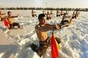 التدريبات القاسية للجيش الصيني وسط الثلوج