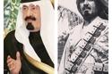 صورة نادرة لخادم الحرمين الشريفين الراحل الملك عبد الله بن عبد العزيز.