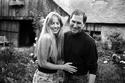 ستيف جوبز، مؤسس شركة آبل، وزوجته لورين باول
