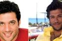 بوراك أوزجيفيت والممثل المصري حسن الرداد.