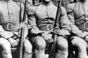 أحمد مظهر أثناء تخرجه من الكلية الحربية عام 1938