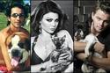 النجوم وعشق الحيوانات: أجمل صور النجوم مع الحيوانات الأليفة والمفترسة