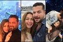 لقطات رومانسية تكشف حب النجوم والنجمات لشركاء حياتهم