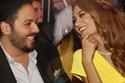 المغني اللبناني رامي عيّاش وزوجته داليدا