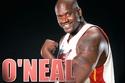 لاعب كرة السلة الأمريكي شاكيل أونيل