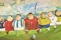 صور نجوم كرة القدم بأوزان زائدة!