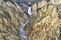 شلال يلوستون السفلى فى حديقة يلوستون الوطنية، فى وايومنج - الولايات المتحدة الأمريكية.