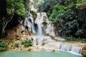 شلالات لوانغ برابانغ - لاوس.