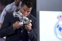"""بالصور: احتفال استثنائي في """"ريال مدريد"""" لكريستيانو رونالدو"""