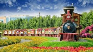 بالصور: حديقة Miracle Garden أكبر حديقة زهور في العالم بدبي