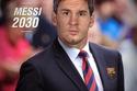 ليونيل ميسي والتوقع بأنه سيصبح مدير نادي برشلونة عام 2030