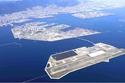 جزيرة الميناء في اليابان تعد مهبطاً لطائرات الهليكوبتر وتحتوي على عدد من الفنادق والمنشآت السياحية والمتاجر ومتحف القهوة