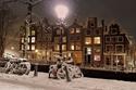 15 صورة ستجعلك تتمنى السفر لأمستردام في الشتاء.. قصة خيالية رائعة!