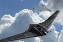 طائرة بات Horten Ho 229 الألمانية ويعني اسمها الخفاش وليس لديها القدرة على قذف الصواريخ فحسب بل أنها صممت للتفجير وبإمكانها تخطي الرادارات وإسقاط عدد هائل من القنابل