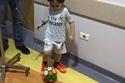 بالصور: طفل لبناني فقد والديه في تفجير برج البراجنة يطلب مقابلة كريستيانو رونالدو والمشاهير يتضامنون
