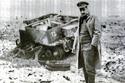 جمال عبد الناصر عندما كان قائد ميداني أثناء حرب فلسطين 1948