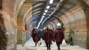 بالصور: منتجع صحي في بيلاروسيا على عمق 420 متر تحت الأرض