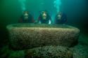 صور لمدينة فرعونية تم اكتشافها تحت الماء وعرضها في بريطانيا